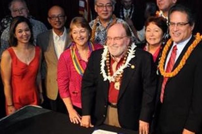 夏威夷對於同性戀平權議題一向友善(取自網路)