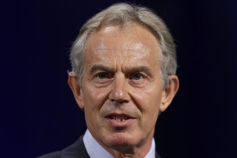 英國前首相布萊爾支持英國再次介入伊拉克危機(美聯社)