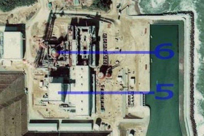 政府計劃收購範圍為第一核電廠周圍南北長約5公里、東西長約3公里的土地,圖片來源:網站