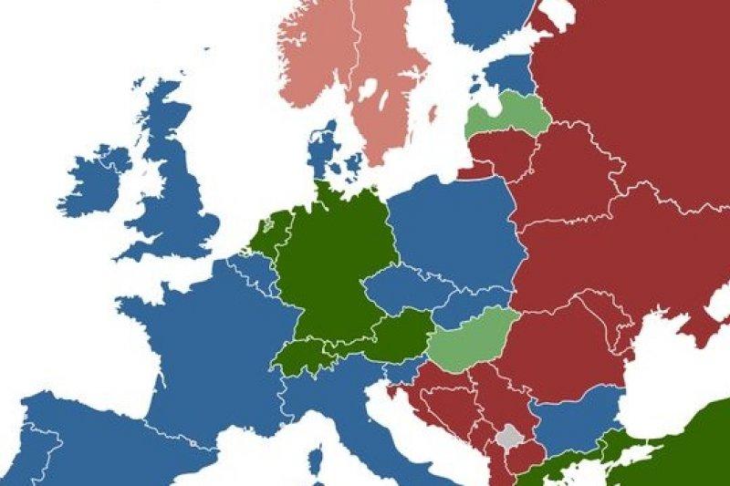 歐洲各國性交易法概況,圖片來源:維基百科