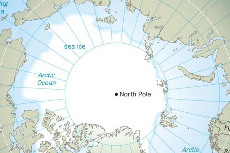 北極圈周邊國家至少5國主張海域重疊,圖片來源:網路
