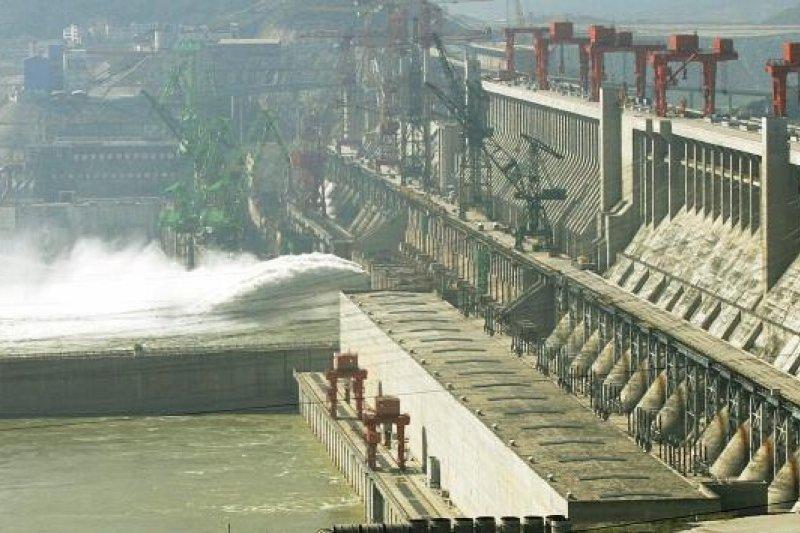 中國三峽大壩。(圖片來源:取自網路)