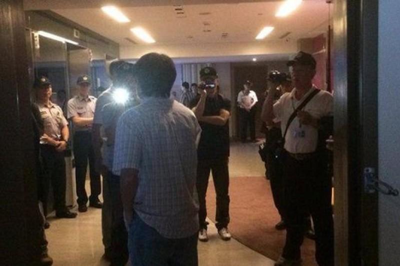 針對破門事件,民主鬥陣發表強烈譴責聲明。(取自民主鬥陣 Democracy Tautin臉書)