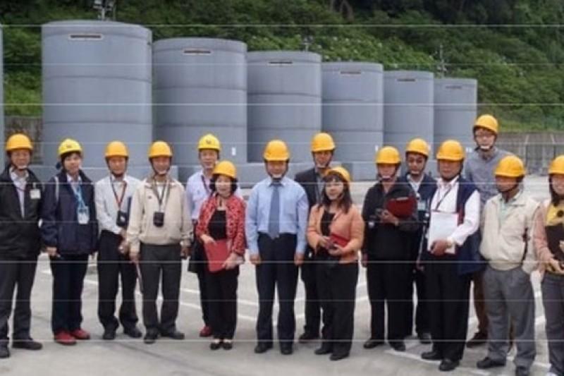 對於核電廠乾式貯存場的啟用進度,新北市政府不輕易放行。圖為核一廠的乾式貯存設施。(取自原能會網站)
