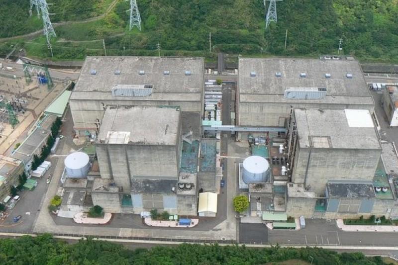 因核廢料無處貯存,核一廠的1、2號機將先後面臨停機危機。(取自台電核能看透透網站)