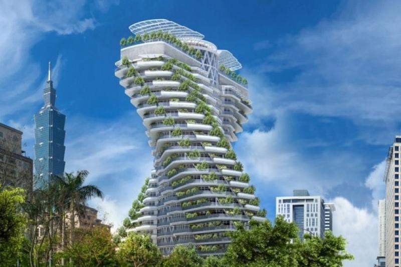 「陶朱隱園」傳開價每坪800萬,每戶約24億元,鎖定富豪進行全球銷售。(取自中華工程網站)