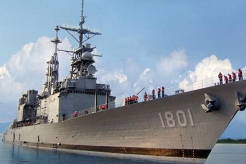 由於中科院研發的艦上垂直發射系統的不穩定因素未排除,讓縮小版的天弓三型防空飛彈部署在紀德艦的計劃遙遙無期。(取自國防部網站)