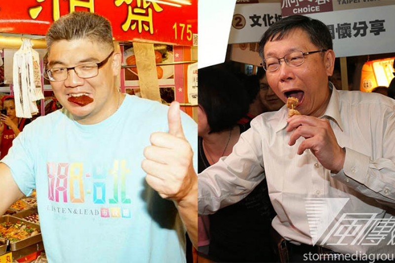 台北市長政見辯論會7日登場,雙方可能聚焦在食安議題,連勝文(左)、柯文哲(右)雙方已對食安問題多次隔空交火。(連勝文:蘇仲泓;柯文哲:吳逸驊攝)