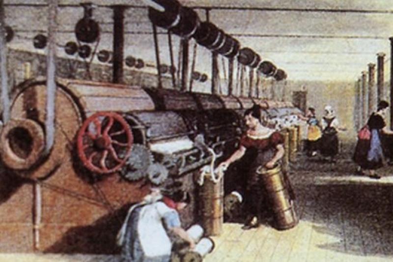 工業革命帶動第一波經濟成長,人們的生活水準大幅提高(取自新華網)