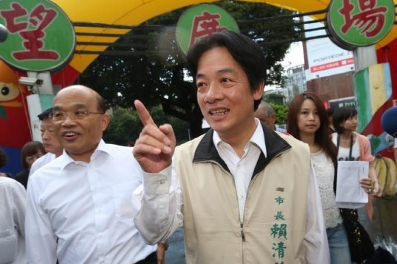 台南市長賴清德反歷史課綱微調,民進黨中央跟進要求執政縣市抵制新課綱(吳逸驊攝)