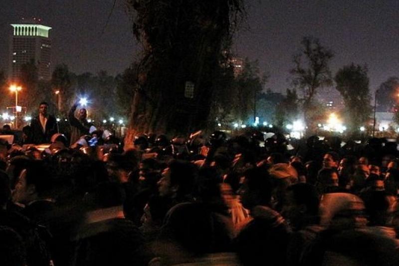 2011年的埃及革命之後,新媒體還能再帶來第二個春天嗎?(取自維基百科)