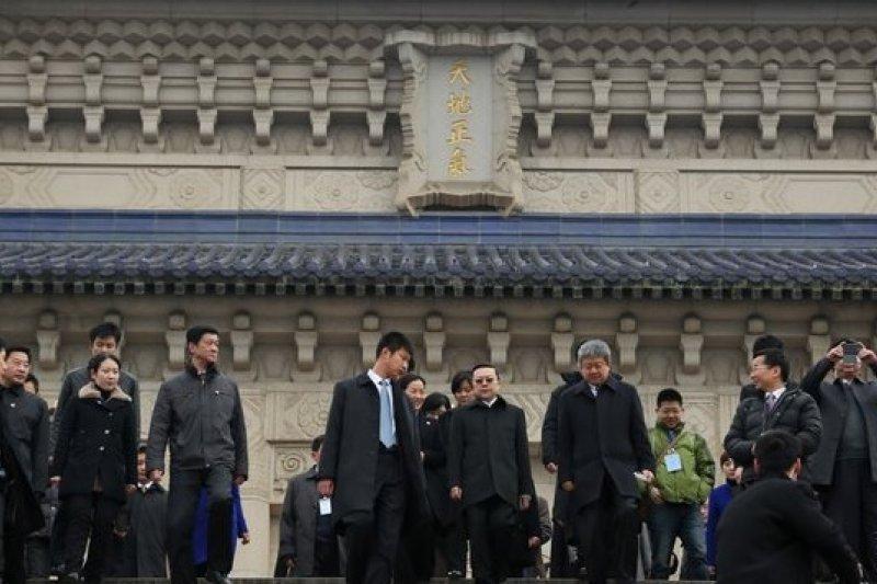 在南京中山陵稱中華民國是對岸容忍的底線(圖為陸委會主委王郁琦中山陵謁陵,余志偉攝)