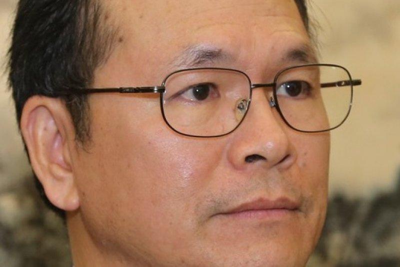 陸委會副主委林祖嘉指馬習會以APEC為優先,因為北京可解釋為「國內事務」(吳逸驊攝)