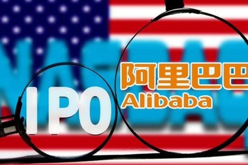 2014年03月17日,阿裡巴巴宣佈赴美上市。(取自騰訊大家網,大慶/東方IC 供圖)