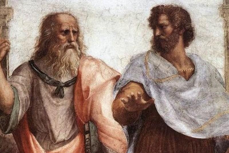 柏拉圖不喜歡笑,亞里斯多德則是有但書的接受笑。(取自網路)