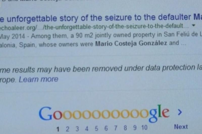 Google執行歐盟判決的標準不明,引發質疑聲浪(取自網路)