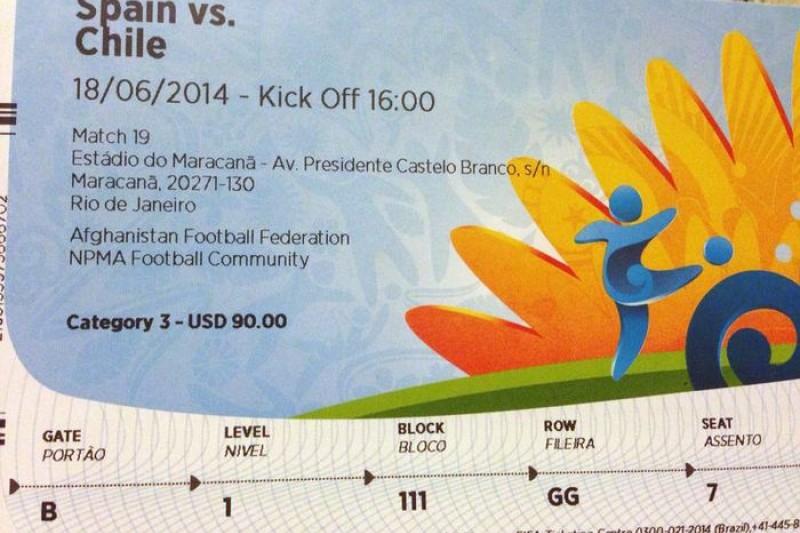 世界盃足球賽事的門票炙手可熱,成為黃牛集團的金雞母。(美聯社)