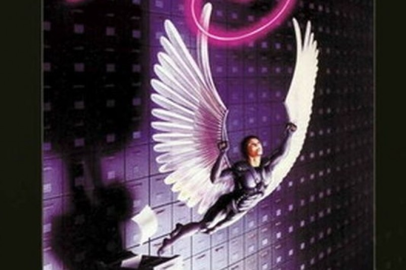 電影Brazil (1985) 劇情妙想天開,反烏托邦、反極權、反官僚主義,被視為電影界的1984黑色幽默。(電影海報)