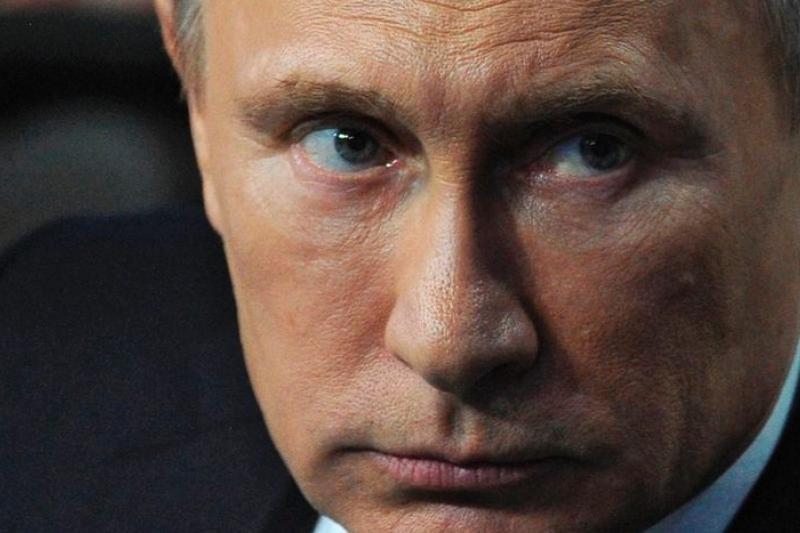 俄羅斯總統普京,對烏克蘭東部與南部虎視眈眈。(美聯社)