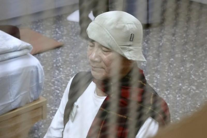 林義雄以殉道精神為反核四無限期禁食。(台北市攝影記者聯誼會提供)
