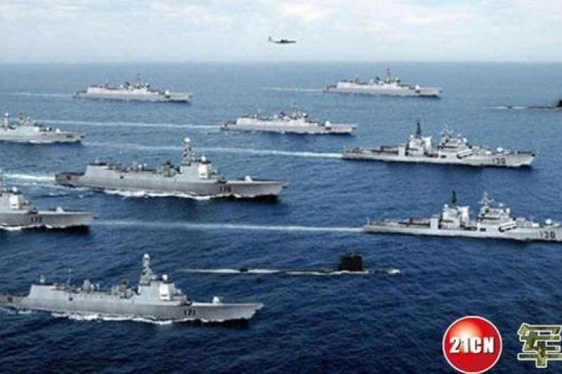 中俄海上演習5月將在東海舉行。(取自網路)