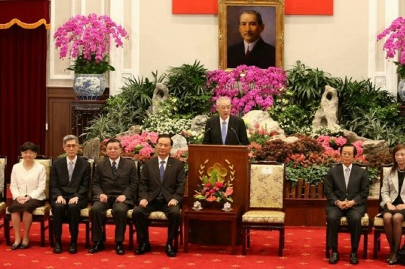 馬英九總統提名考監兩院名單備受批評。(吳逸驊攝)