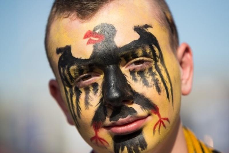 德國隊在世界盃表現亮眼,境內亦湧現國族情操(美聯社)