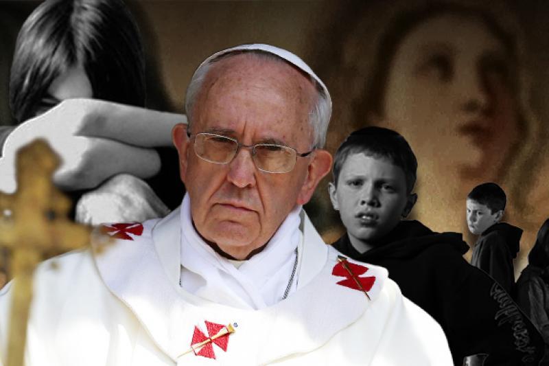 教宗將嚴厲對付教會性侵醜聞。(圖片來源:美聯社、網路,風傳媒重製:李承祐)