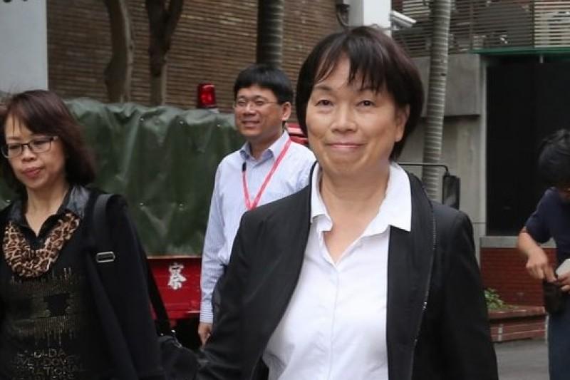文化部長龍應台接受媒體訪問對318學運憂心忡忡。(資料照,余志偉攝)