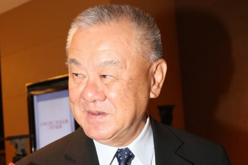 工商協進會理事長林伯豐表示,「台灣能源政策不應該排除核電,現在這個狀況我認為立法院應要有明確的方向,甚至公投表決都有必要,政府應該提早規劃能源政策。」(吳逸驊攝)