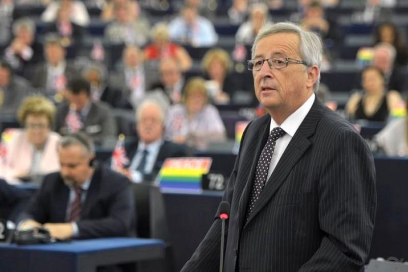 儘管不受極右派、疑歐派歡迎,容克仍然當選歐盟新任領導人。(美聯社)