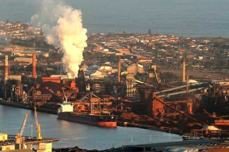 澳洲重工業發達,以人均計算,是溫室氣體排放量最多的已開發國家。(美聯社)
