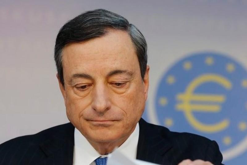 歐洲央行總裁「超級馬力歐」把歐洲央行由最保守變成全球最激進的央行,以負利率力抗「失落10年」。(美聯社)