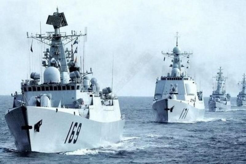 越南並不好惹,中國與越南的南海爭端,中國未必占便宜。圖為中國南海艦隊新艦服役。(取自網路)