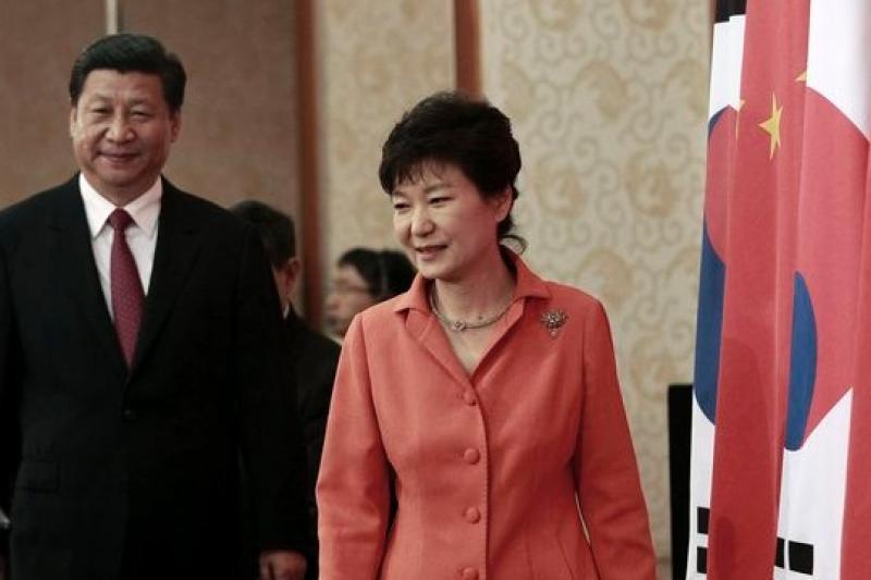 中國與韓國年底要完成FTA簽訂,對台灣經濟是空前的衝擊。(美聯社)