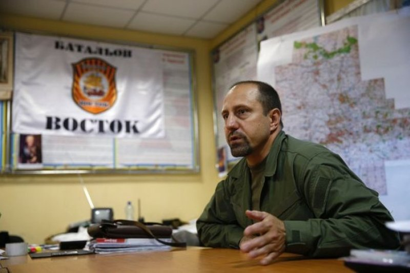 頓內次克東方營指揮官霍達柯夫斯基日前接受《路透》獨家專訪。(取自網路)