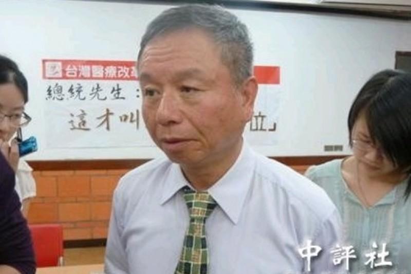 前衛生署長楊志良表示,應該將國際醫療集中到專區,有利管理。(中評社)