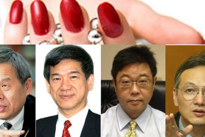 馬政府已經有四位政務官因為涉入桃色危機而辭官。(風傳媒合成)