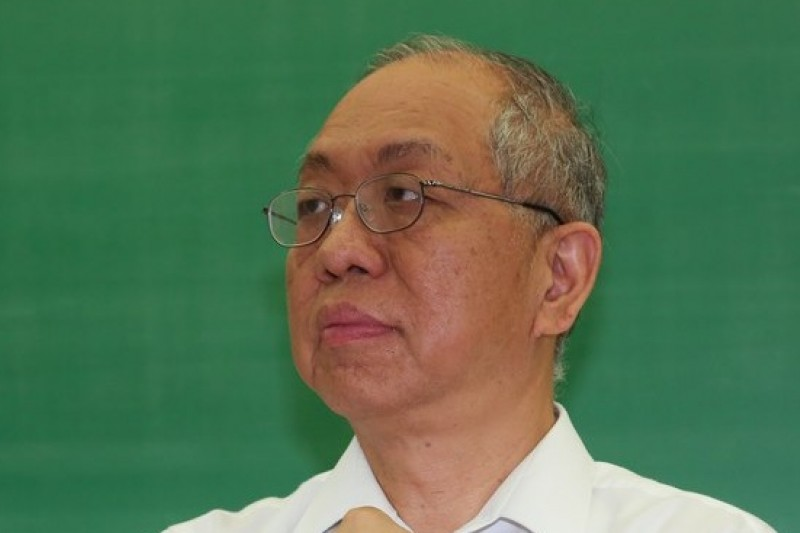 中央研究院院士丘成桐被問到論文造假事件,他表示這是因為台灣太重視論文引用次數,是評審制度造成的不幸。(資料照片,余志偉攝)