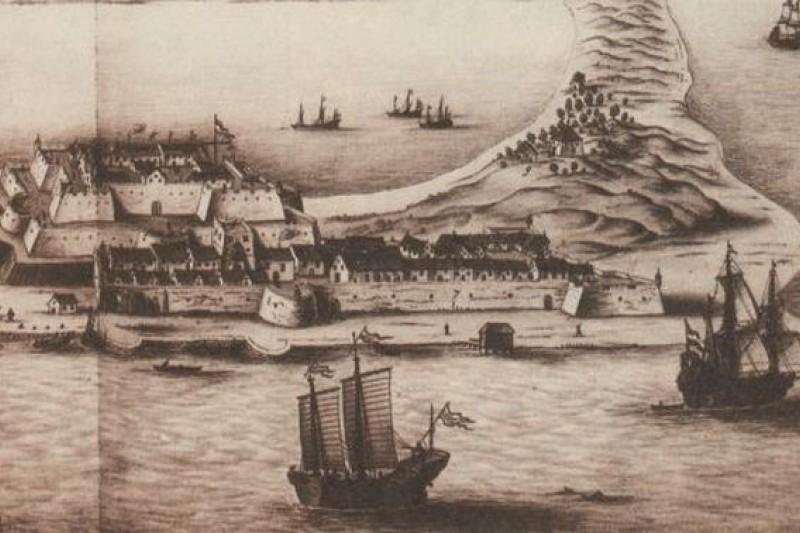 學者歐陽泰史料考察當年鄭成功火力不遜荷蘭。