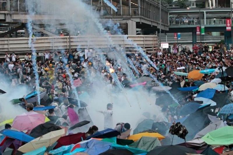 香港進入新公民抗命時代。(美聯社)