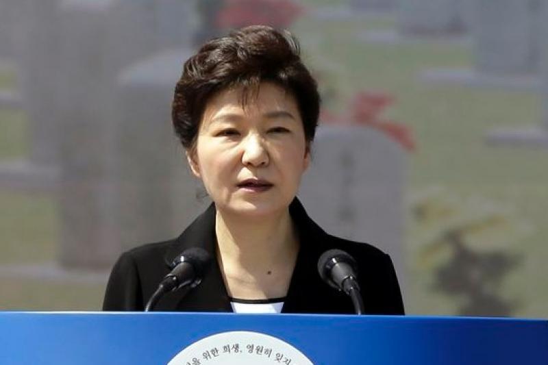 韓國與加拿大簽下FTA,在TPP的12個國家中,台灣等於以2比11大幅落後韓國。圖為韓國總統朴槿惠(美聯社)