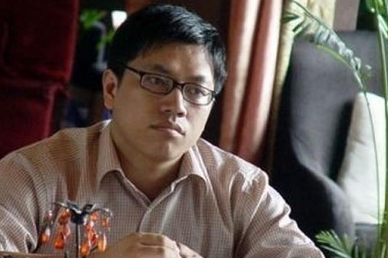 被網友稱為「閃電俠」的中國青年學者郭玉閃,上週被証實遭到北京當局拘審。(取自新公民運動)