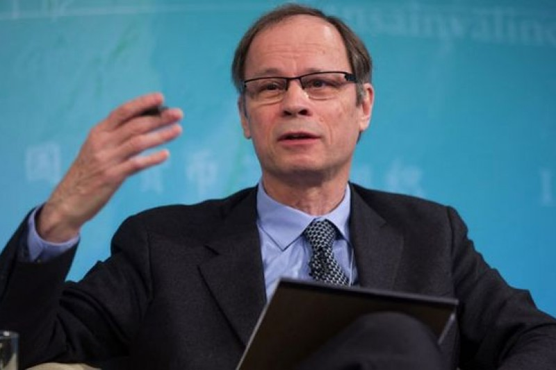 法國經濟學家讓-梯若爾(Jean Tirole)獲頒2014諾貝爾經濟學獎。(騰訊大家網)
