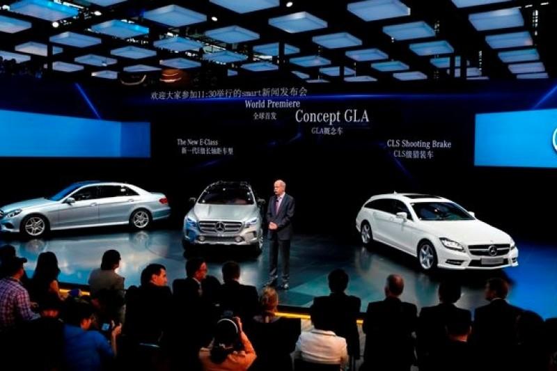 德國豪華車品牌奔馳(賓士)被中國反壟斷當局鎖定為調查對象。(取自網路)