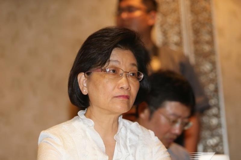 紅十字會會長王清峰8日表示,紅會募款,一定專款專用,並由律師見證。(資料照片,吳逸驊攝)