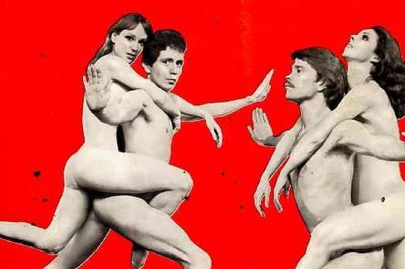 裸露,在劇場,早已經不再是禁忌,要考量的不再是可以不可以,而是必要不必要。(反體制,強調解放的《噢,加爾各答》劇照/取自網路)