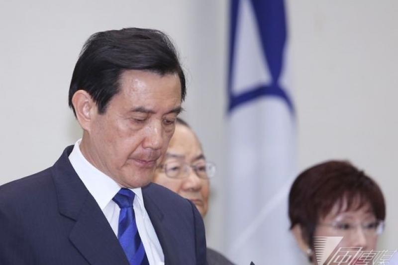 馬英九決定辭黨主席,國民黨如何舖排黨政人事,成為選後第一道考驗。(林韶安攝)
