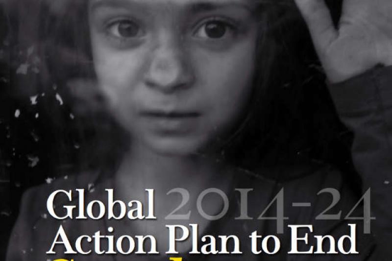 許多戰亂地區的幼童,自出生一刻就沒有身分。(聯合國報告)