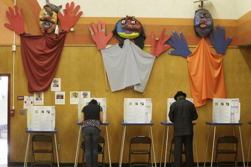 美國期中選舉結果今天出爐。(美聯社)